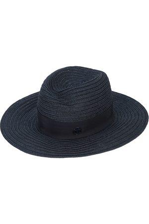 Le Mont St Michel Mujer Sombreros - Sombrero panamá con placa del logo