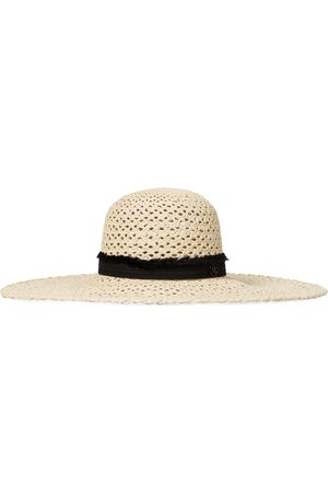 Le Mont St Michel Blanche straw hat