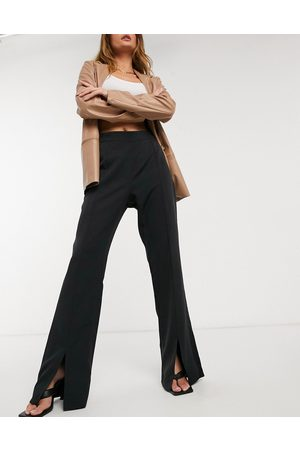 Outrageous Fortune Split front trousers in black