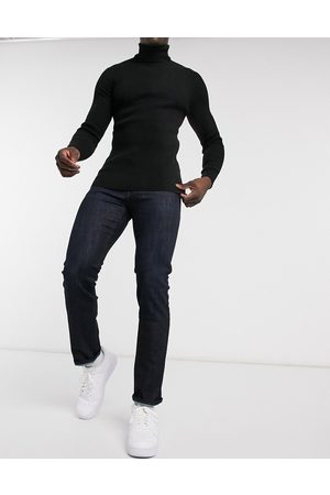 HUGO BOSS Maine regular fit jeans in dark wash