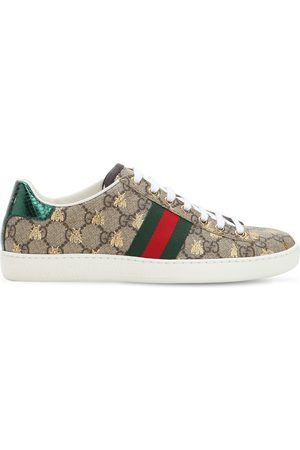 """Gucci Sneakers """"new Ace Gg Supreme"""" De Lona 20mm"""