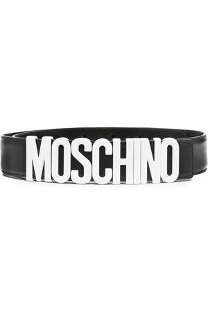 Moschino Cinturón con hebilla del logo