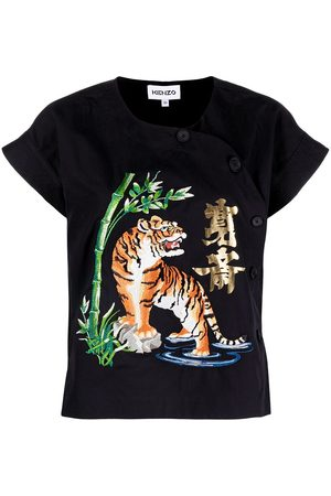 Kenzo Embroidered design T-shirt