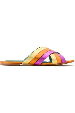 Blue Bird Sandalias planas Rainbow