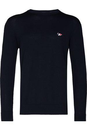 Maison Kitsuné Wool logo sweater