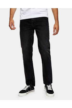 Topman Hombre Skinny - Straight fit jeans in washed black