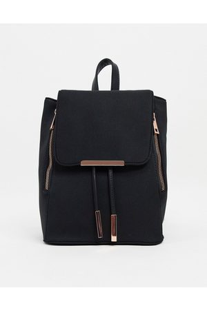 ASOS Scuba backpack with rose gold hardware