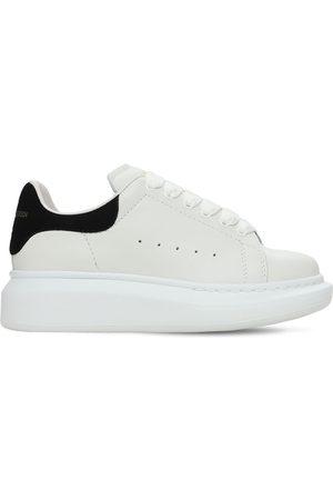 Alexander McQueen Sneakers De Piel Con Cordones