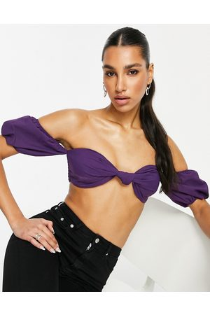 Unique 21 Mujer Crop tops - Twist front cropped bralet