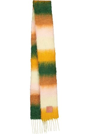 Loewe Striped mohair and wool scarf