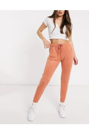 Unique 21 Knitted joggers in desert pink