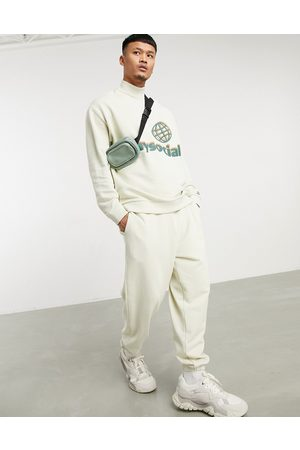 ASOS Day Social ASOS Daysocial oversized tracksuit in with print