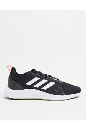 adidas Adidas Running Aswetrain trainers in black and white