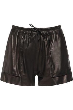Tom Ford Shorts Mini De Piel