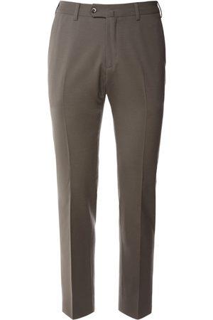 Loro Piana Pantalones Slim Fit De Lana Stretch 18cm