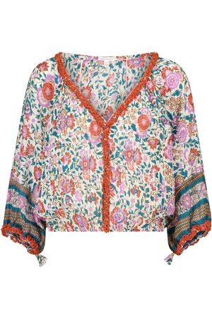 POUPETTE ST BARTH Exclusive to Mytheresa – Ariel floral cotton blouse