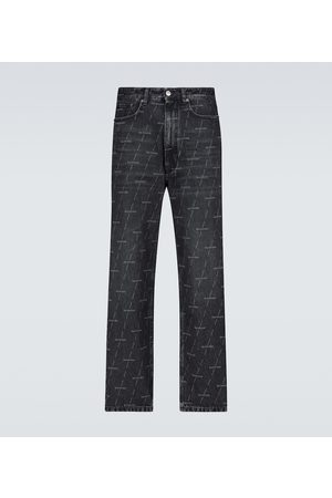 Balenciaga Regular-fit logo jeans