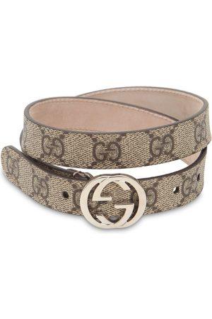 """Gucci Cinturón """"supreme"""" Con Logo Estampado"""