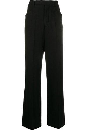 Rick Owens Pantalones de vestir acampanados