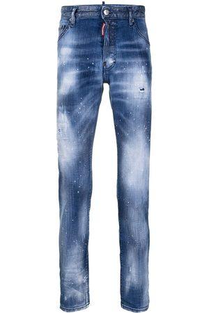 Dsquared2 Hombre Skinny - Jeans slim con efecto envejecido