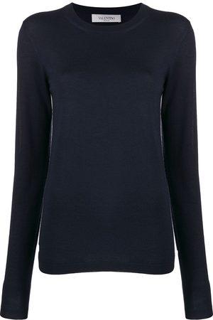 VALENTINO Mujer Suéteres - Suéter con cuello redondo