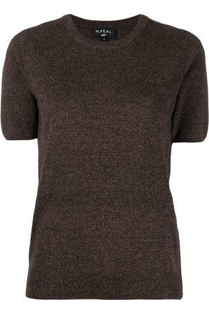 N.PEAL Mujer Tops - Top tejido de cachemira