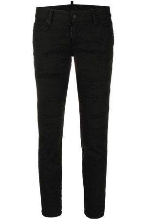 Dsquared2 Mujer Jeans - Jeans capri con tiro medio