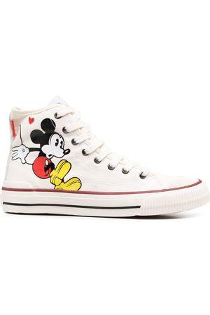 MOA MASTER OF ARTS Tenis - Zapatillas altas con motivo Mickey Mouse