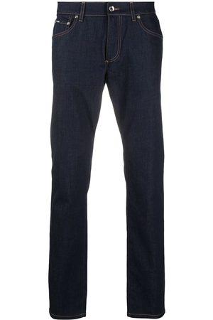 Dolce & Gabbana Hombre Skinny - Jeans slim con logo DG