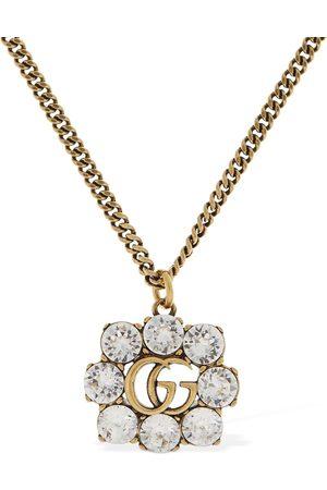 """Gucci Collar """"gg Marmont"""" Con Cristales"""