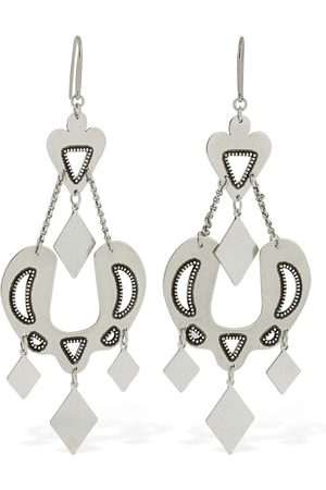 "Isabel Marant Mujer Aretes - Pendientes ""love"""