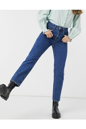 Cotton On Mom jeans in mid wash blue