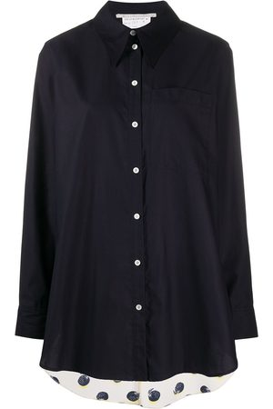 Stella McCartney Camisa con panel en contraste