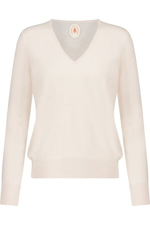 Jardin des Orangers Cashmere V-neck sweater