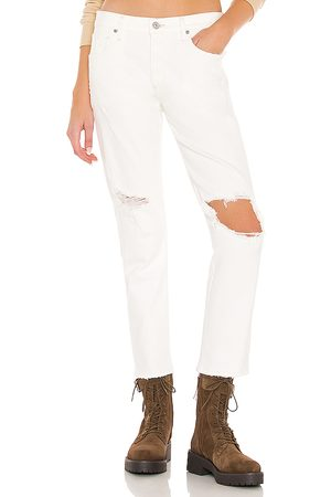 Citizens of Humanity Emerson slim fit boyfriend en color blanco talla 23 en - White. Talla 23 (también en 24, 25, 26, 27