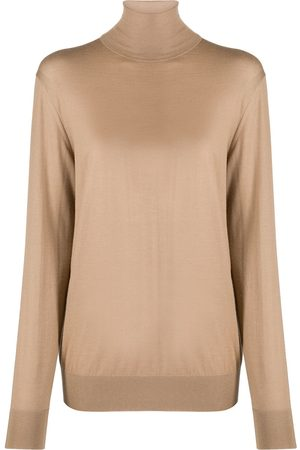 Dolce & Gabbana Mujer Suéteres - Suéter tejido con cuello vuelto