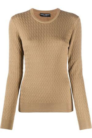 Dolce & Gabbana Suéter tejido de ochos