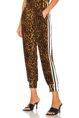 Norma Kamali Side stripe jog pant en color marrón talla L en - Brown. Talla L (también en M, S, XS).