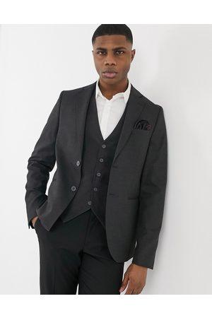 Bolongaro Plain super skinny suit jacket in grey