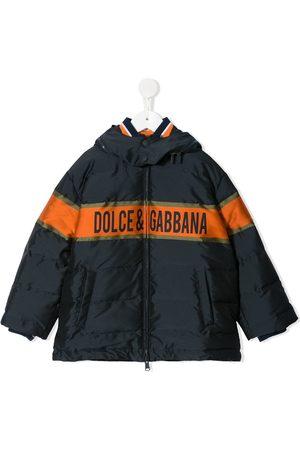 Dolce & Gabbana Abrigos y Chamarras - Chamarra con logo estampado