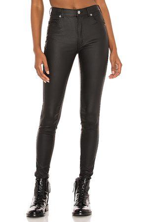 Dr Denim Lexy skinny en color negro talla L en - Black. Talla L (también en XS, S, M, XL).