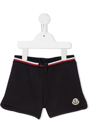 Moncler Embroidered-logo track shorts