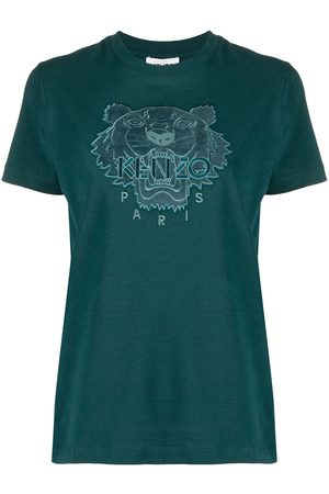 Kenzo Camiseta con motivo Tiger