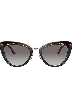 Prada Gafas de sol catwalk cinema evolution en color brown,grey talla all en Black Havana & Grey Gradient - Brown,Grey. Talla all.