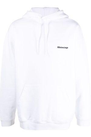 Balenciaga Hoodie con logo bordado