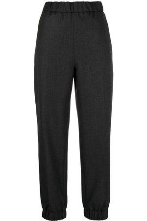 Ganni Mujer Pantalones y Leggings - High-waisted track pants