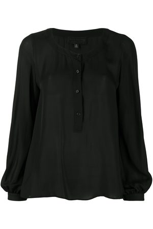 NILI LOTAN Mujer Blusas - Buttoned silk blouse
