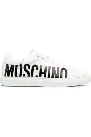 Moschino Hombre Tenis - Tenis bajos con logo estampado
