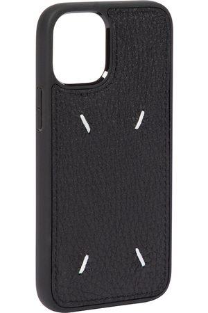 Maison Margiela Mujer Celulares - Leather iPhone 12 Mini case