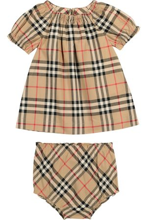 Burberry Sets de ropa - Baby Vintage Check cotton dress and bloomers set
